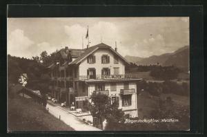 AK Bürgenstock, Hotel Waldheim