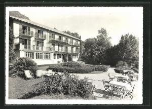AK Ascona-Moscia, Hotel Erholungsheim Collinetta, Gartenpartie