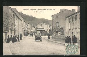 AK Pontaumur, Circuit d`Auvergne, Coupe Gordon Bennett 1905, Autorennen