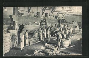 AK Hautvillers, Maison Moet et Chandon, La Pressurage, Weinverarbeitung