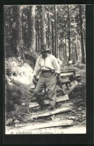 AK Gerardmer, Un Schlitteur, Forstwirtschaft