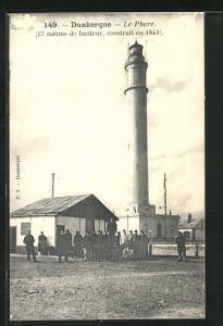 AK Dunkerque, Le Phare, Leuchtturm
