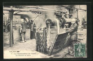 AK La Fabrication du Tissu - La Teinture en pièces, Teppich-Herstellung