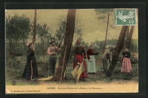 AK Landes, Dernière Récolte de la Résine Le Barrascot