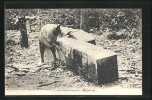 AK Exploitation forestière - L`Equarissage, Forstwirtschaft