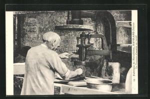 AK Arbeiter in der Porzellan-Fabrik Haviland Frères