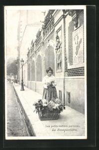 AK Paris, La Bouquetière, Blumen-Händlerin