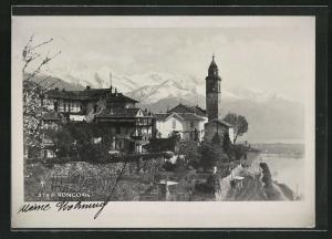 AK Ronco s / A., Teilansicht mit Bergen