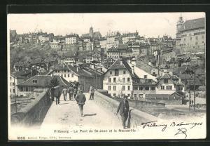 AK Fribourg, Le Pont de St-Jean et la Neuveville