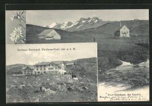 AK Melchsee-Frutt, Kurhaus Reinhard und Kapelle