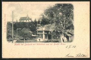 AK Flühli, Wohnhaus vom sel. Bruder Klaus