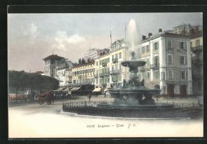 AK Lugano, Hotel Walter am Quai