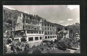 AK Orselina, Ansicht vom Hotel Orselina
