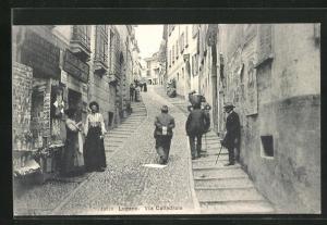 AK Lugano, Via Cattedrale