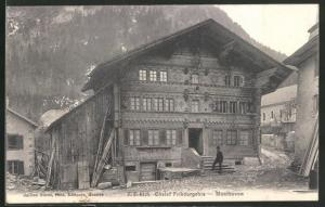 AK Montbovon, Chalet Fribourgeois