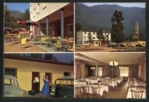 AK Mezzovico, Motel, Innen & Aussenansicht