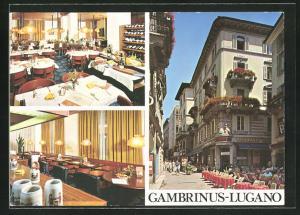 AK Lugano, Restaurant-Grand Café Gambrinus