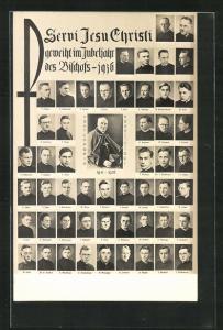AK Servi Jesu Christi gewiht im Jubeljahr des Bischof 1936
