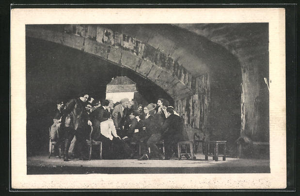 AK Moskauer Avantgarde-Theater, Spielszene, Bauhaus 0