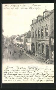 AK Bendorf a. Rh., Gasthaus von Heinrich Geisler an der Bergstrasse