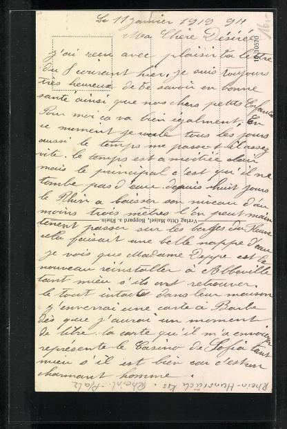 AK Boppard a. Rh., Geschäftshaus der Bopparder Zeitung 1