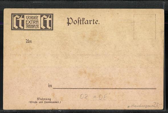 Lithographie Ualau / Ost-Karolinen, Hütten am Hafen, Fischerfamilie 1