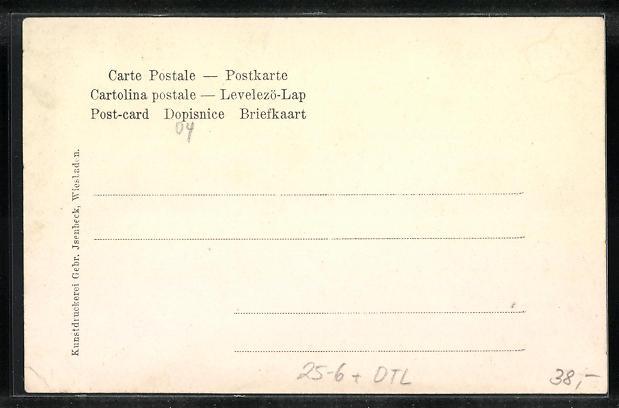 AK Weilburg, Gordon Bennett Autorennen 1904, Teilansicht vom Ort, Limburger Dom, Saalburg 1
