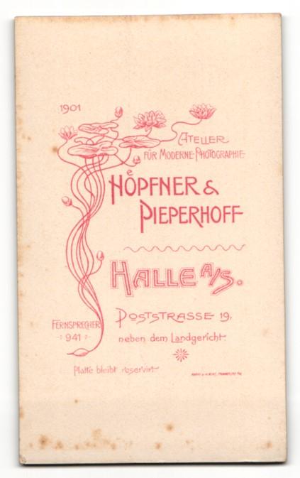 Fotografie Höpfner & Pieperhoff, Halle a. S., Portrait niedlches Kinderpaar in eleganter Kleidung 1