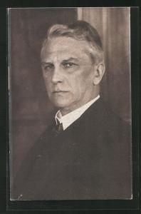 AK Schriftsteller Georg Ledebour, Mitglied der Arbeiterbewegung