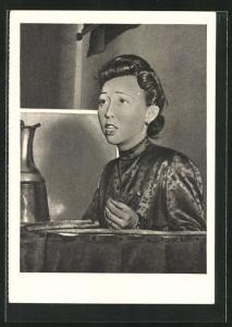 AK Frau Thy Hi Linn, Vietnamesische Freiheitskämpferin, DDR-Propaganda