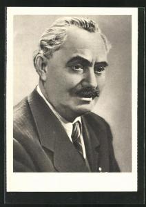 AK Georgi Dimitroff, Revolutionärer Führer des bulgar. Volkes..., DDR-Propaganda
