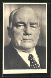 AK Staatspräsident Wilhelm Pieck