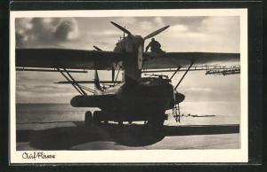AK Aufklärer-Wasserflugzeug Dornier Do 18