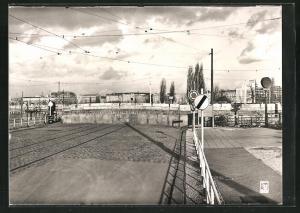 AK Berlin, Potsdamer Platz, Grenze, Mauer