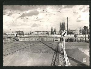 AK Berlin, Potsdamer Platz, Mauer, Grenze