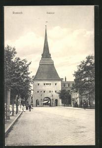 AK Rostock, Motiv vom Steintor