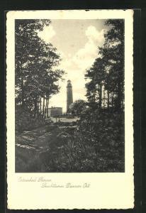 AK Prerow, Leuchtturm Darsser Ort
