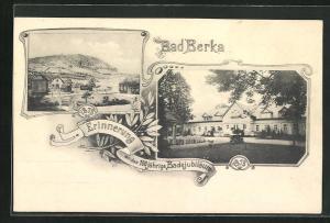 AK Bad Berka, Festpostkarte zum 100 jährigen Badejubiläum 1813-1913, Kurhaus