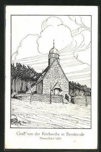 AK Bernterode, Kirchweihe Himmelfahrt 1925