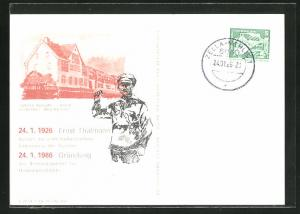 AK Kinderheim Max Reimann, Ernst Thälmann, DDR-Propaganda