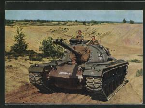AK Deutsche Bundeswehr, Panzer M 48 A II