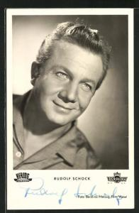 AK Rudolf Schock, Portrait des Schauspielers