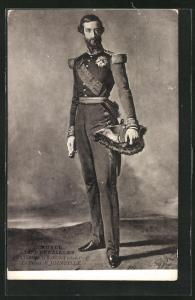 AK Prinz von Joinville von Frankreich in Uniform mit Epauletten und Hut