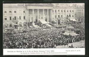 AK Baptême de le Prince Léopold, 7 Juin 1902, Taufe Prinz Leopold 1902