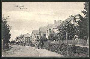 AK Duderstadt, Villen an der Westertor Strasse