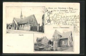 AK Rotenburg i. Hann., Asyl für Epileptische, Doctor- und Pastorenhaus
