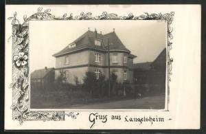 AK Langelsheim, Blick auf ein Wohnhaus