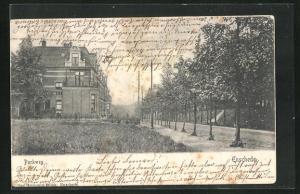 AK Enschede, Blick in den Parkweg