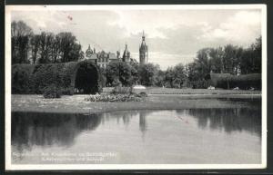 AK Schwerin, Am Kreuzkanal im Schlossgarten