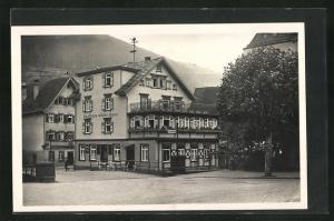 Foto-AK Wildbad i. Schwarzwald, Gasthaus wilder Mann